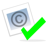Tập tin:Checked copyright icon.png