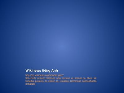Wikinews tiếng Anh
