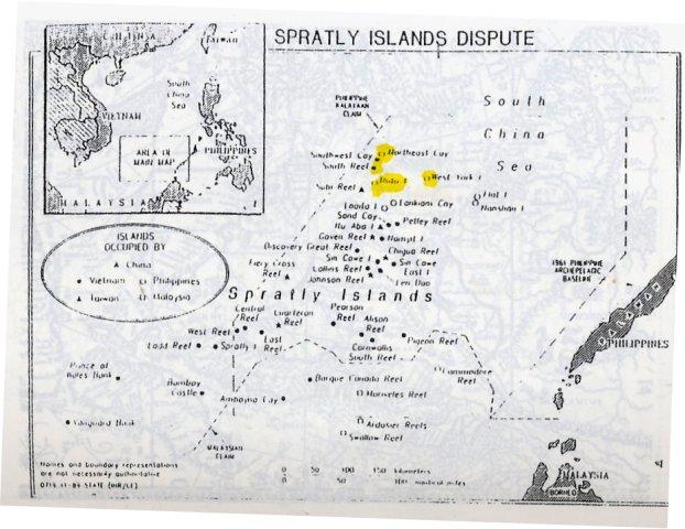 Bản đồ 7: Trường Sa